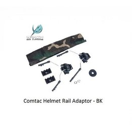 Z-Tactical Comtac Helmet Rail Adapter Set - BK
