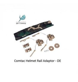 Z-Tactical Comtac Helmet Rail Adaptor Set - DE