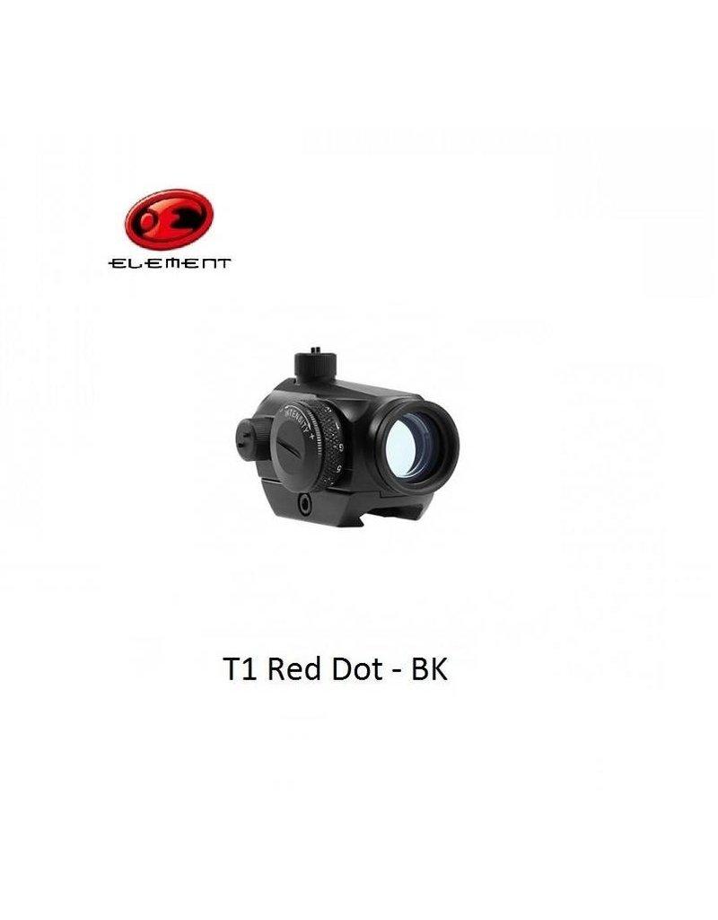 Element T1 Red Dot - BK