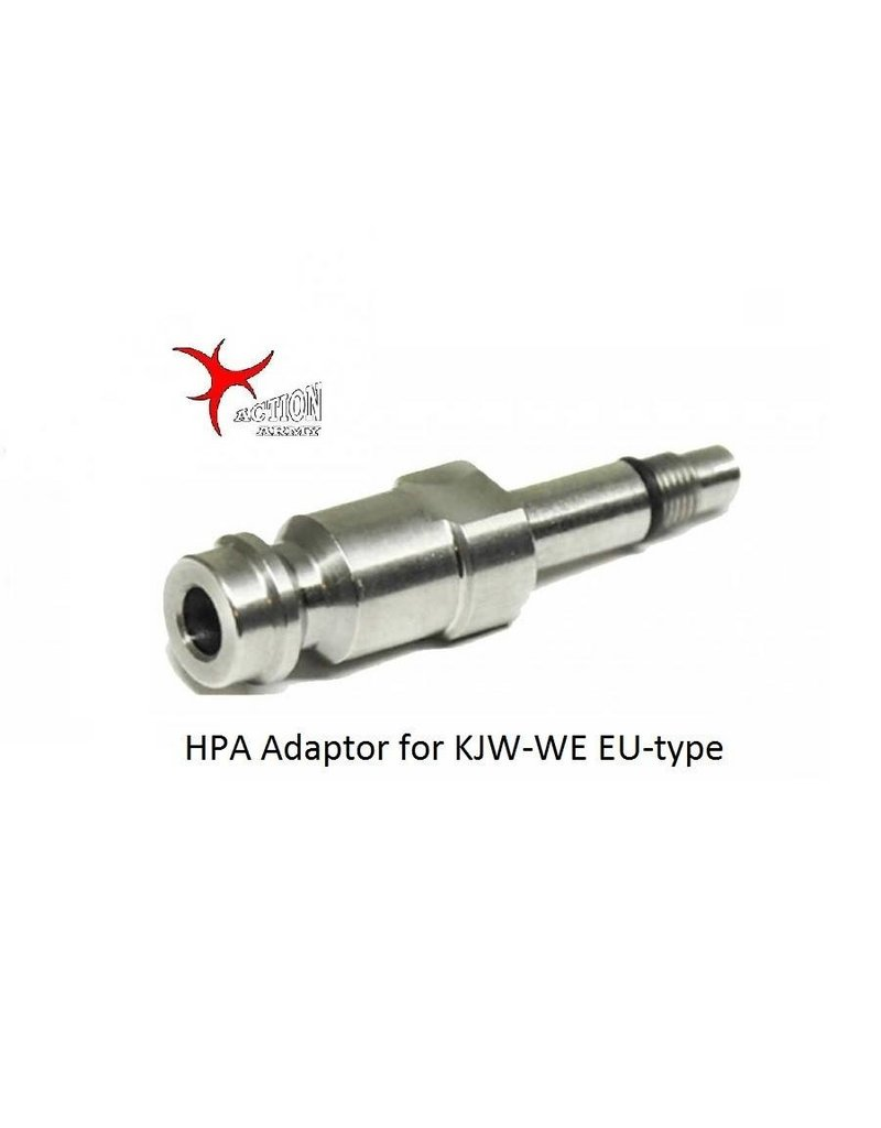 Action Army HPA Adaptor for KJW-WE EU-type