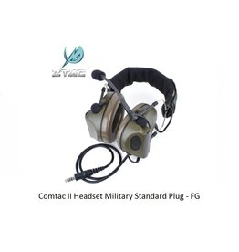 Z-Tactical Comtac II Headset Military Standard Plug - FG