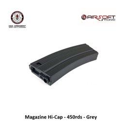 G&G G&G Magazine Hi-Cap - 450rds - Grey