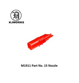 KJ Works M1911 Part No. 15 Nozzle