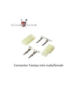 King Arms Connector Tamiya mini male/female