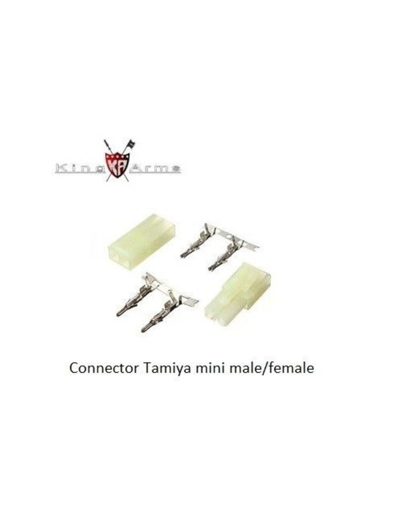 King Arms Connector Tamiya mini male/female