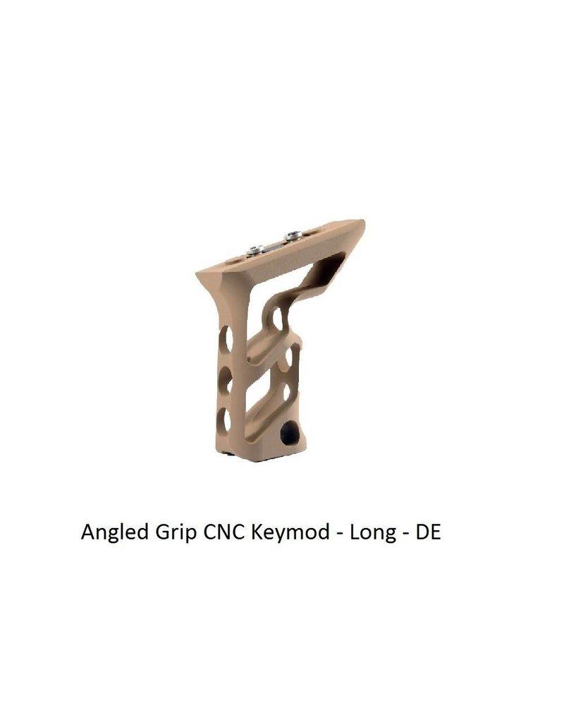 Angled Grip CNC Keymod - Long - DE
