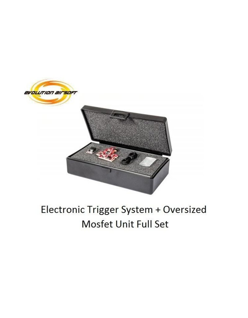 Evolution Airsoft Electronic Trigger System + Oversized Mosfet Unit Full Set