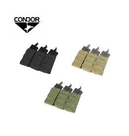 CONDOR Condor Triple Open-Top M4 Mag Pouch