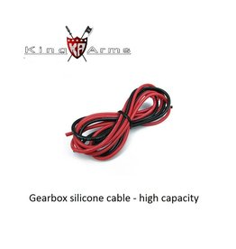 King Arms Gearbox silicone cable - 16awg - 100cm