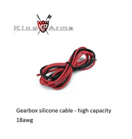 King Arms Gearbox silicone cable - 18awg - 100cm