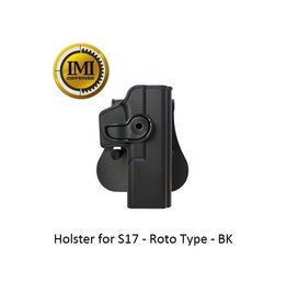 IMI Defense Holster for S17 - Roto Type - BK
