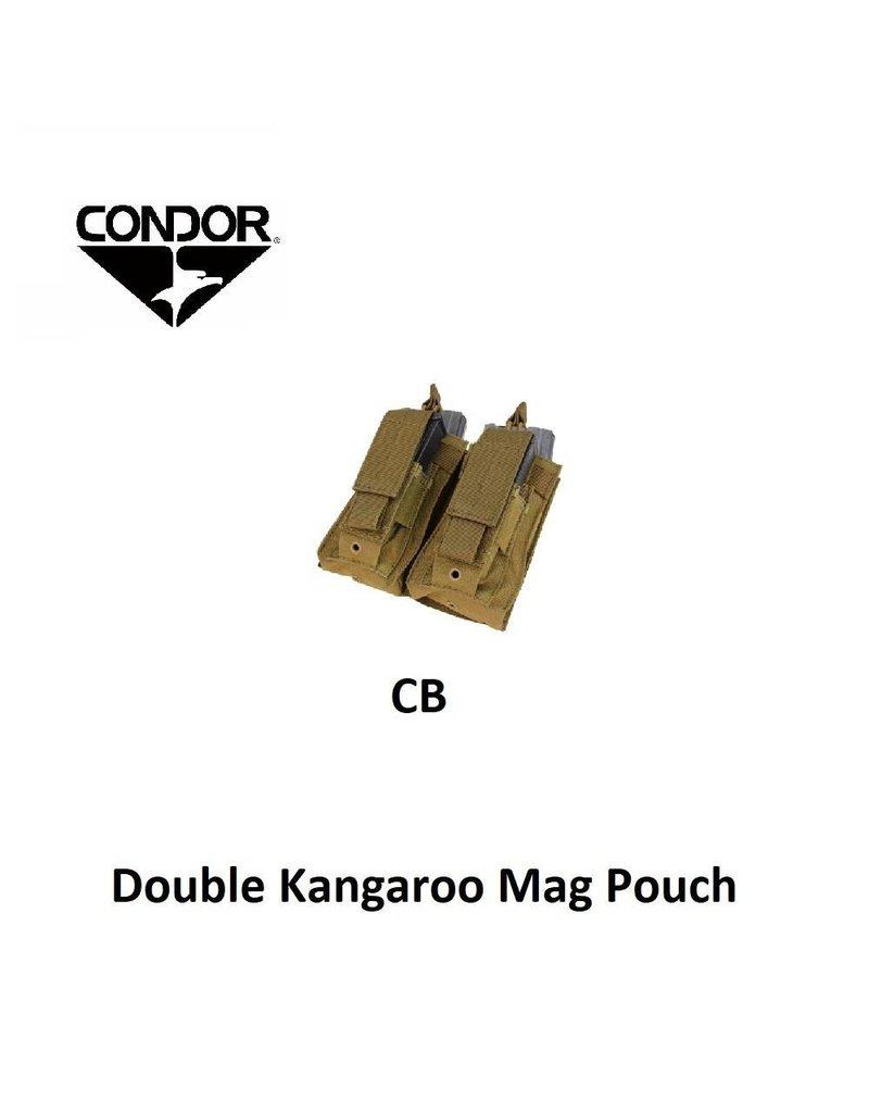 CONDOR Double Kangaroo Mag Pouch