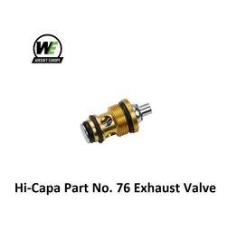 WE Hi-Capa Part No. 76 Exhaust Valve