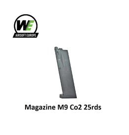 WE Magazine M9 Co2 25rds Black