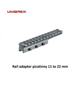 UMAREX Rail adapter picatinny 11 to 22 mm