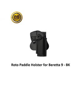 IMI Defense Roto Paddle Holster for Beretta 9 - BK