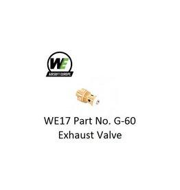 WE WE17 Part No. G-60 Exhaust Valve