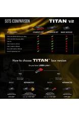 Gate Titan V2 Complete Set Rear Wired