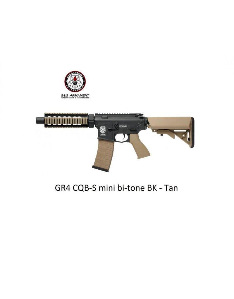 G&G GR4 CQB-S mini bi-tone BK - Tan