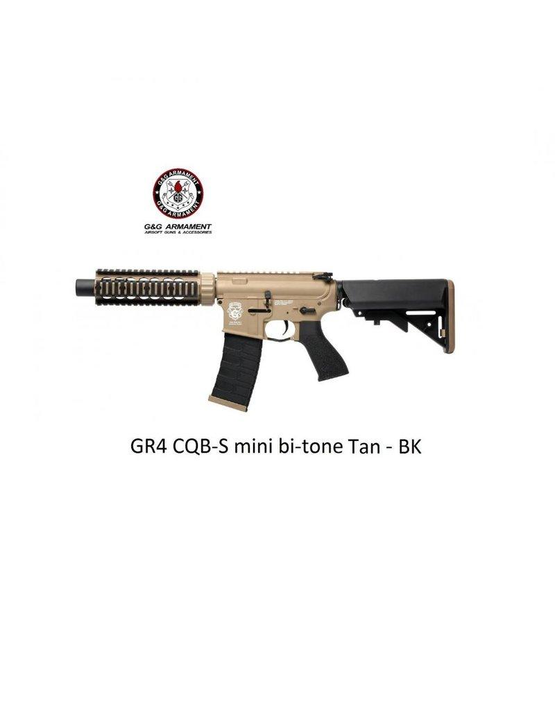 G&G GR4 CQB-S mini bi-tone Tan - BK