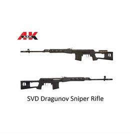 A&K SVD Dragunov Sniper Rifle
