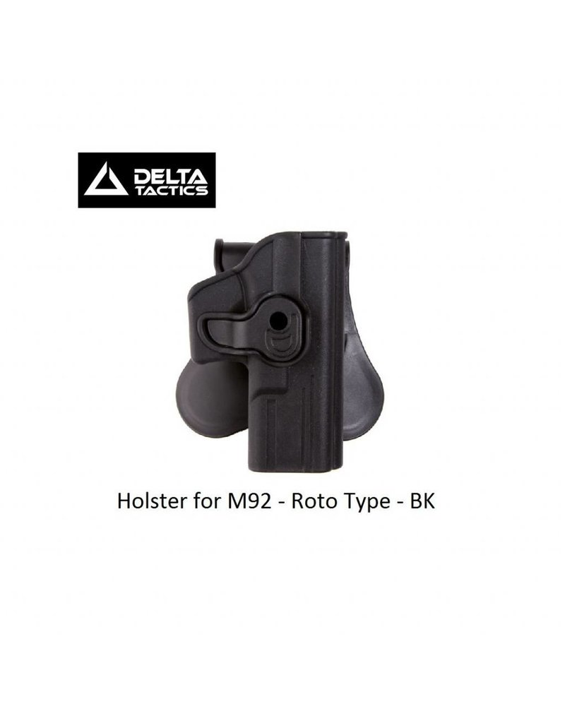 Delta Tactics Holster for M92 - Roto Type - BK