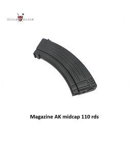 King Arms Magazine AK midcap 110 rds - box of 5 single