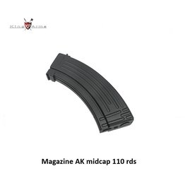 King Arms Magazine AK midcap 110 rds