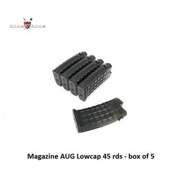 King Arms Magazine AUG Lowcap 45 rds - box of 5