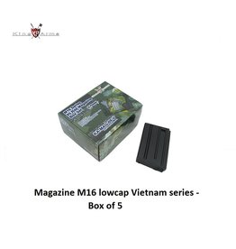 King Arms Magazine M16 lowcap Vietnam series - Box of 5