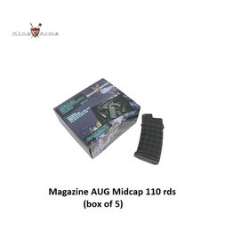 King Arms Magazine AUG Midcap 110 rds - box of 5