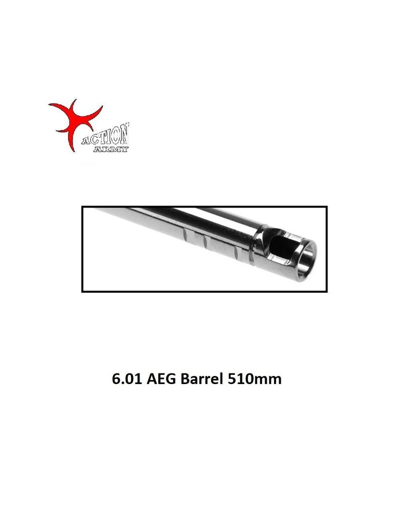 Action Army 6.01 AEG Barrel 510mm