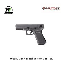 WE WE18C Gen 4 Metal Version GBB - BK