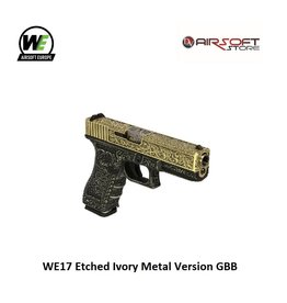 WE WE17 Etched Ivory Metal Version GBB