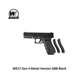 WE WE17 Gen 4 Metal Version GBB Black