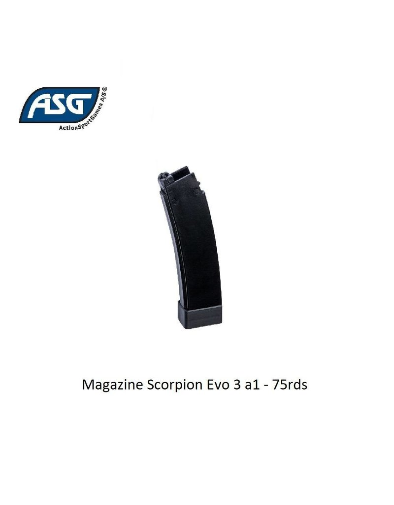 ASG Magazine Scorpion Evo 3 a1 - 75rds