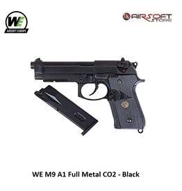 WE WE M9 A1 Full Metal CO2 - Black
