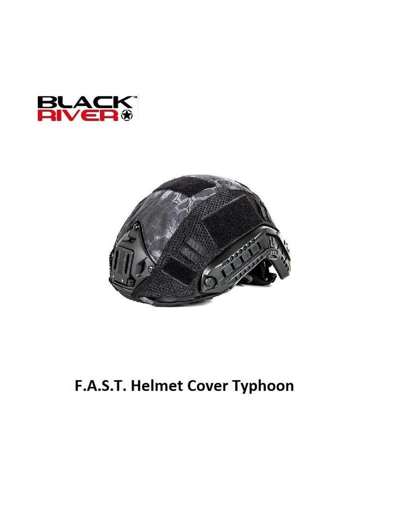 Black River F.A.S.T. Helmet Cover Typhoon