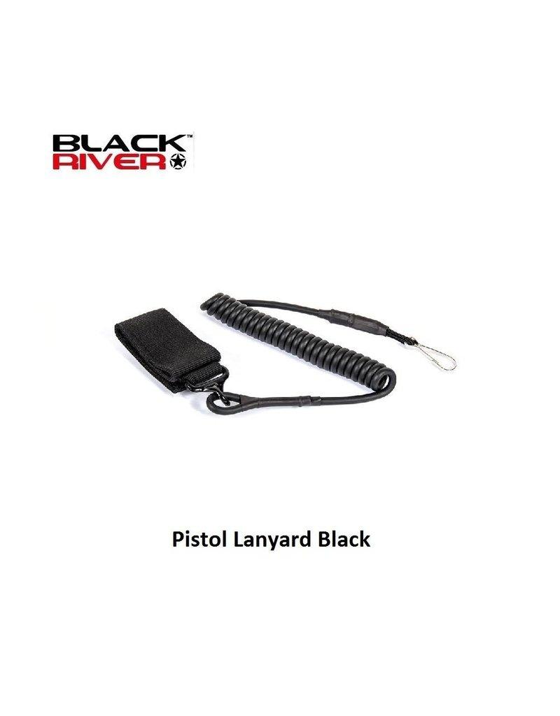Black River Pistol Lanyard Black