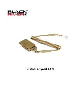 Black River Pistol Lanyard TAN