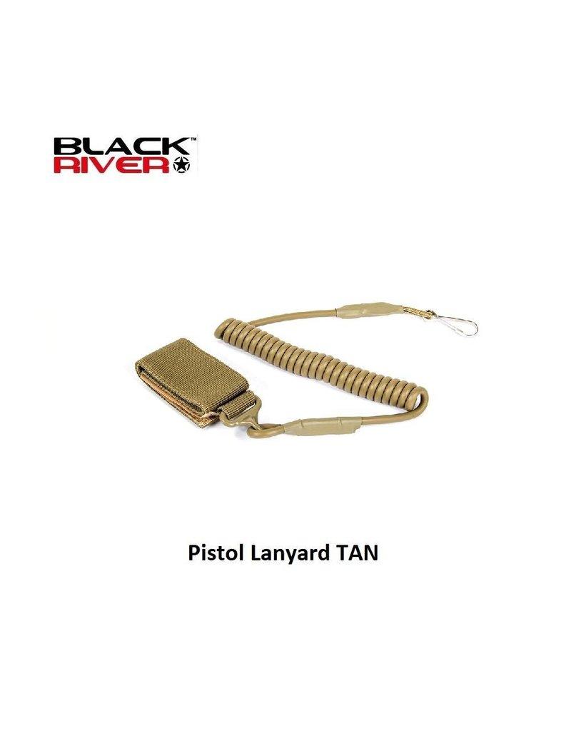 Black River Pistol Lanyard TAN