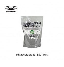 VALKEN Infinity 0.25g BIO BB - 1 KG - White