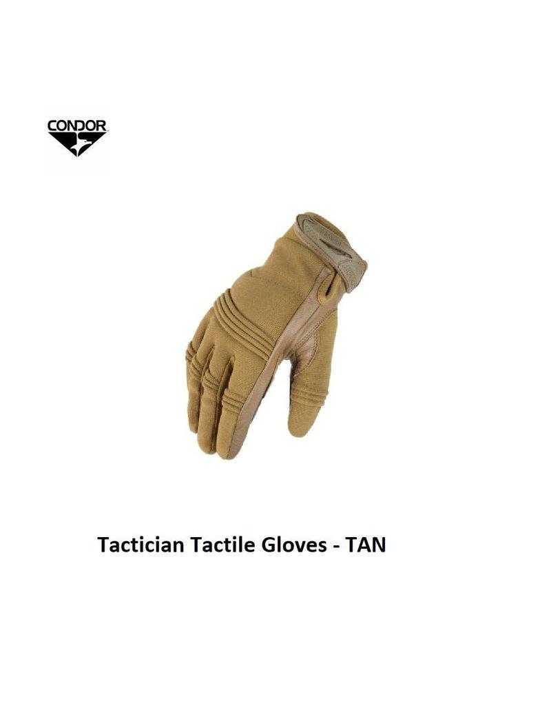 CONDOR Tactician Tactile Gloves - M - TAN