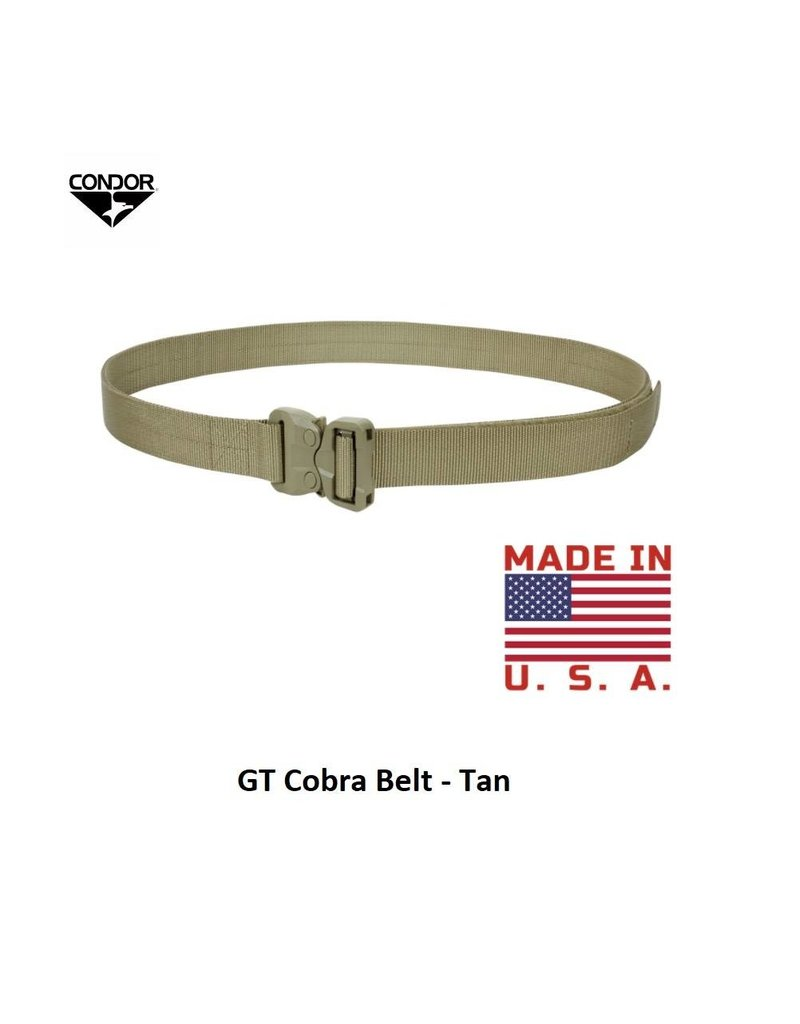 CONDOR GT Cobra Belt M-L - Tan