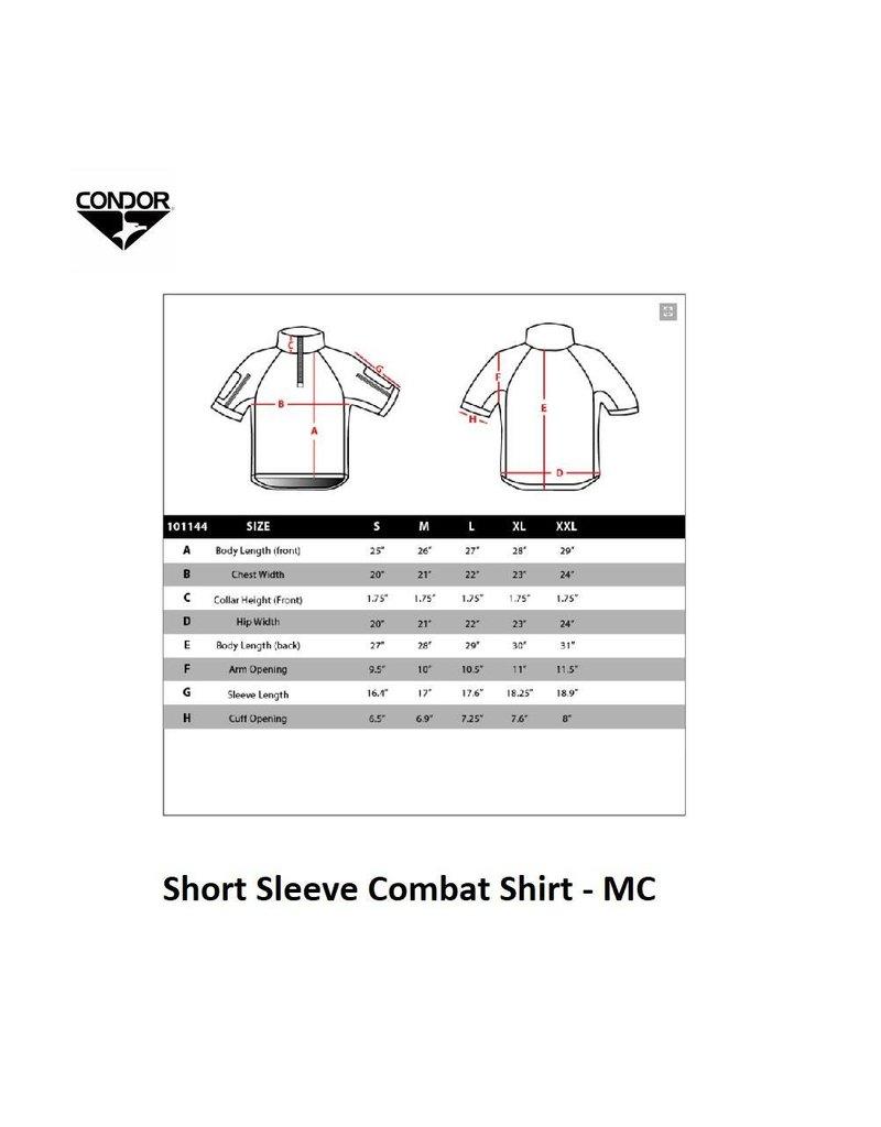 CONDOR Short Sleeve Combat Shirt - MC