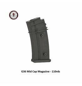 G&G G36 Mid Cap Magazine - 110rds - 5pcs