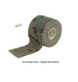 Camo Form Camouflage Strap - Digital Woodland