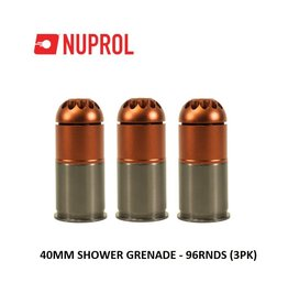 NUPROL 40mm Shower Grenade - 96rnds (3PK)