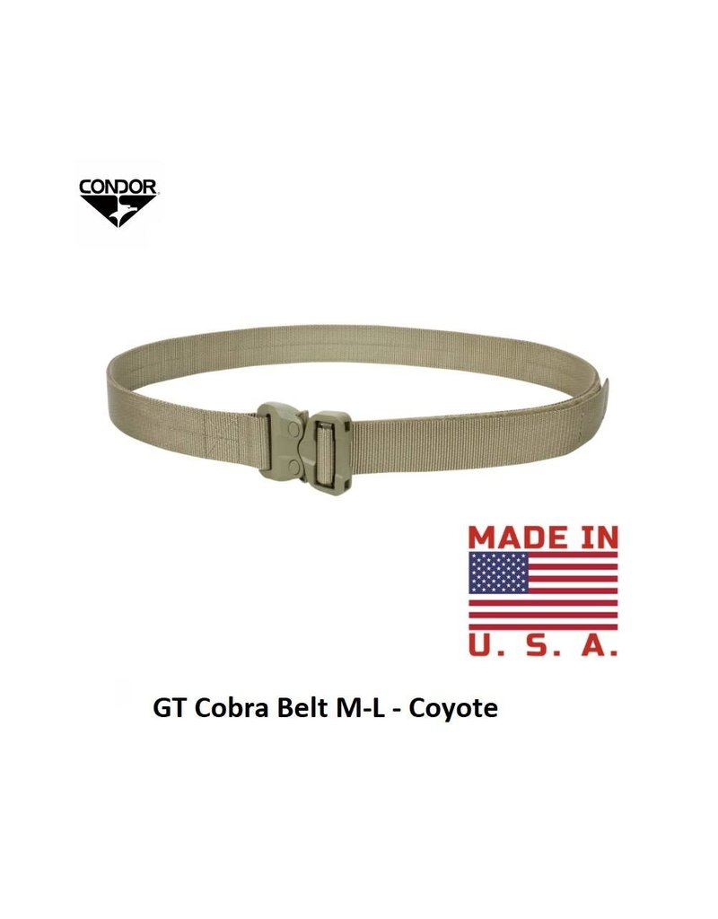 CONDOR GT Cobra Belt M-L - Coyote