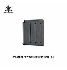 VFC Magazine ASW338LM Sniper 40rds - BK